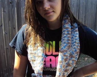 Natural neutrals Crochet Cowl