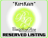 Reserved Listing for KIMKAN: Black Bird Engraved Clothespin Display Line
