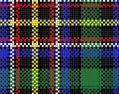 Perfect Tartan Plaids for Needlepoint Custom Charted