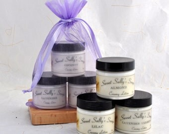 Creamy Lotion Sampler Set, Lotion Gift Set of 3