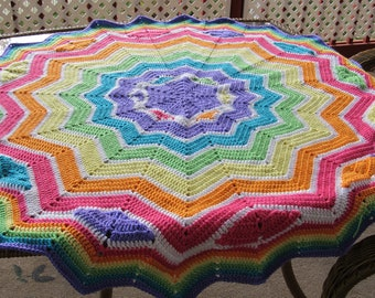 Whimsical Round Ripple 6 to 24 points