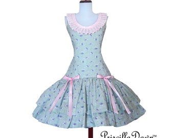 summer sale Sweet Lolita Hime Teaparty Princess Bow Dress Cupcake Dress -------CUSTOM in YOUR size