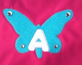 sale kids cape superhero  cape or princess or free customized initial cape colors yellow, aqua,red,blue,hot pink,soft pinK or new BLACK