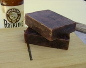 Beer Soap with Rivertown Roebling- Loaded with Olive Oil- Chewy Chocolate Coffee Brownie scent-Made from scratch