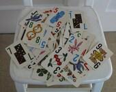 Vintage Child Game Cards Numbers Toy Ephemera Supplies Jr. Keno