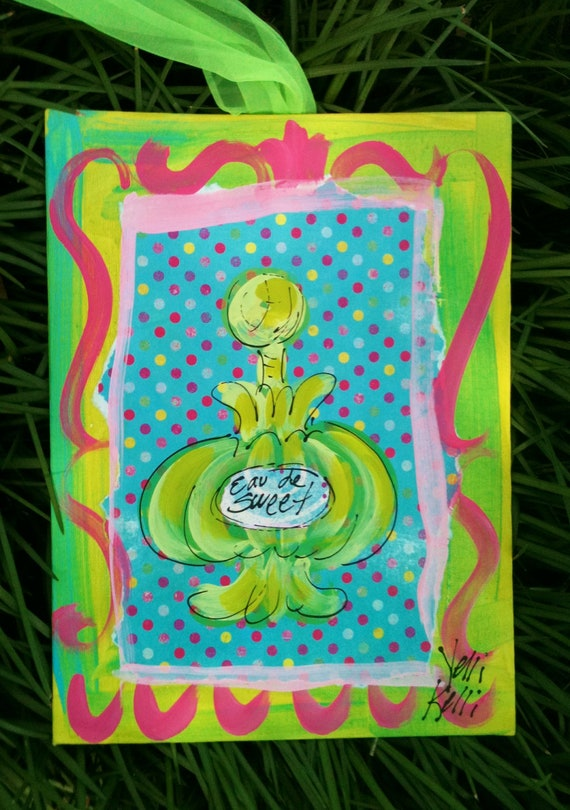 Pretty Perfume Original Painting Ready To Ship