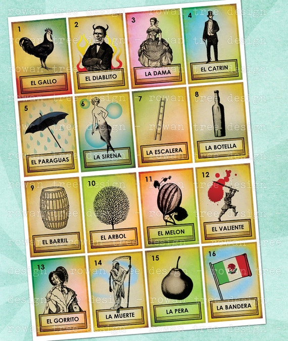 Sweet image intended for printable loteria cards pdf