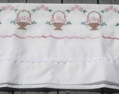 Sew Pretty Pillowcases - Baskets of Flowers - Set of 2