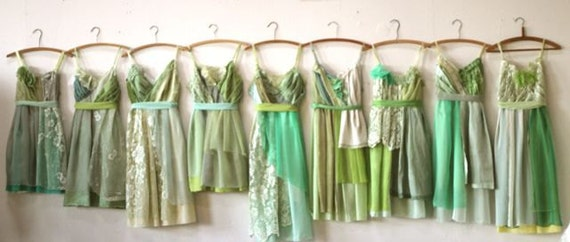 Individual Final Payments for Mary McQuiggan's Custom Bridesmaids Dresses
