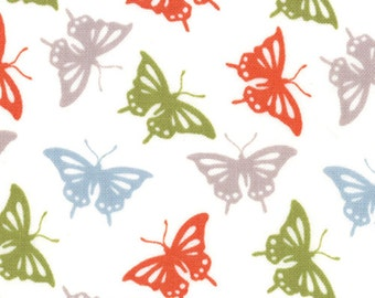 Serenade fabric | Butterflies Autumn 27114 15 | Kate Spain