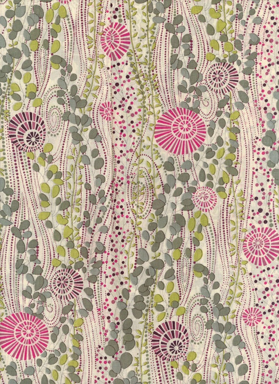 Liberty Of London Fabric Tana Lawn Daisy Ann 9x27 By Misselany