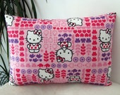 Hello Kity on Pink Pillow