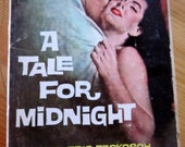 """vintage PULP FICTION book--  """"A Tale For Midnight"""" by Frederic Prokosch (1959)"""