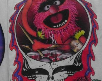 "Grateful Dead Animal ""Rythm Devil "" T-shirt"
