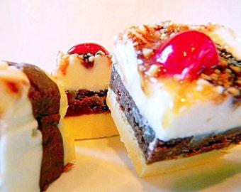 Julie's Fudge - BANANA SPLIT - One and a Half Pounds