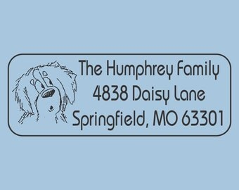 Custom Self Inking Stamp The Humphrey Family Design 200-019