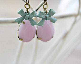 Sweet Bows - Vintage Style Earrings