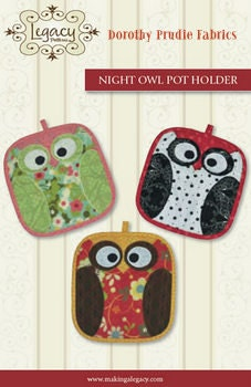 Clearance fall owl potholders fun fast and easy pattern for for Fast crafts to make and sell