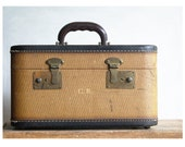 Vintage Train Case made by San Antonio Trunk Co.