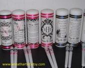 Wedding Unity Candle, Monogram Unity Candle, Personalized Unity Candle, Unity Candle Set