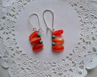 Sale - Red HOT CHILI PEPPER Earrings/Sale Earrings/Food Earrings/Southwest Earrings