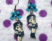 RESERVED Sailor Mercury Power Earrings
