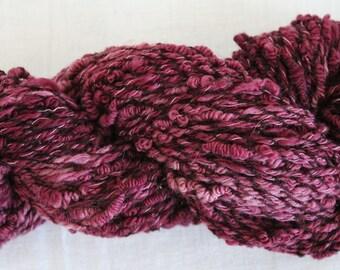 Handspun bullion yarn