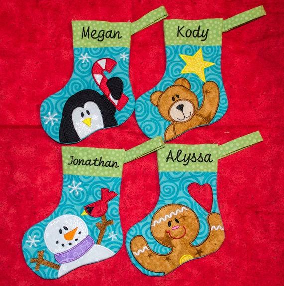 Penguin Christmas Stockings