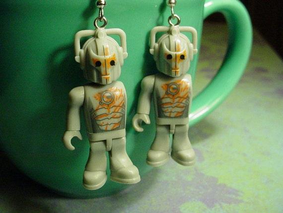 HUGE Sale Doctor Who Pandorica Cybermen Earrings
