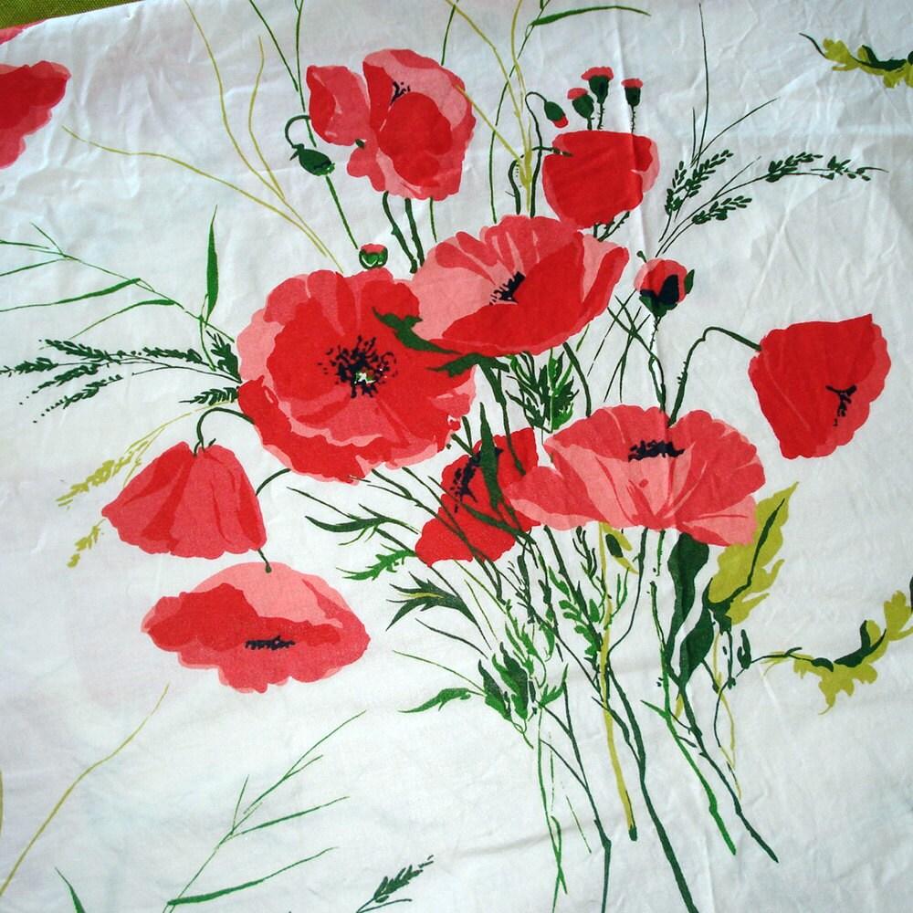 poppy print fabric - photo #7