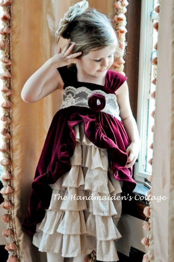 Reserved for Tina, Tea Party Dress PATTERN