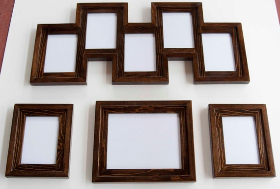 4 Piece Frame Collection 1 8x10 2 5x7\'s and 1 5 opening