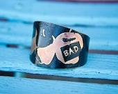 Apple Envy Metal Cuff Bracelet