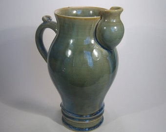 Aquamarine Serving Pitcher
