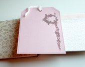 Sale - Recycled Smash Book - Photo Pocket with Tag and Bonus Kit By DetailsDelights