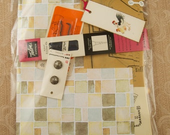 Vintage Bits and Pieces Collage Kit