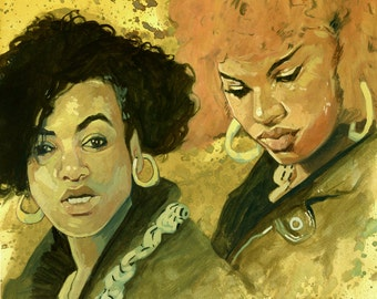 Salt N Pepa - Original Painting