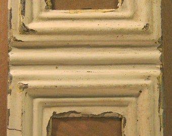 AUTHENTIC Tin Ceiling Double Two Picture Frame RECLAIMED Photo S679-12