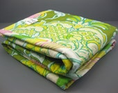 Stroller Quilt - Carseat Quilt - Blankie - Quilted Changing Mat -  Baby Girl Pop Garden by Heather Bailey