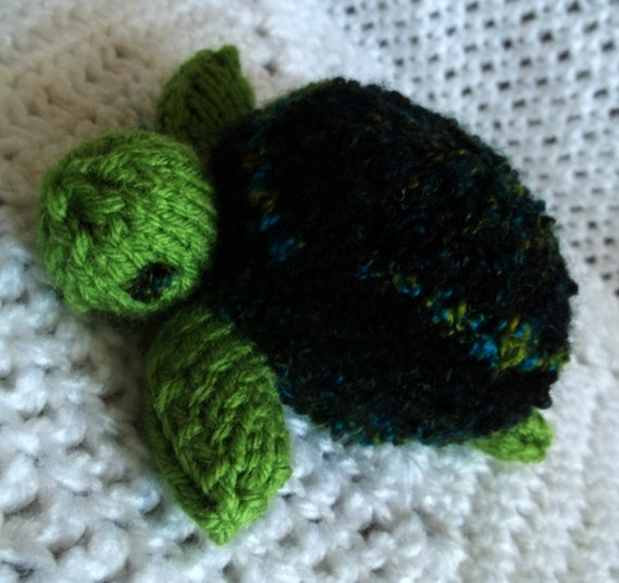 Knit Toy - Green Sea Turtle