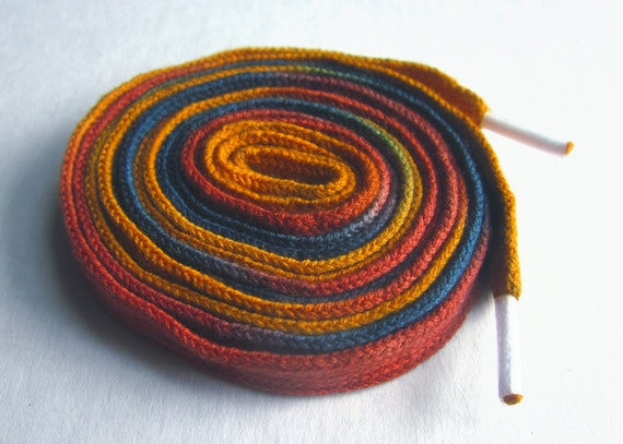 Hand Dyed Shoe Laces (45 inch length) Granola
