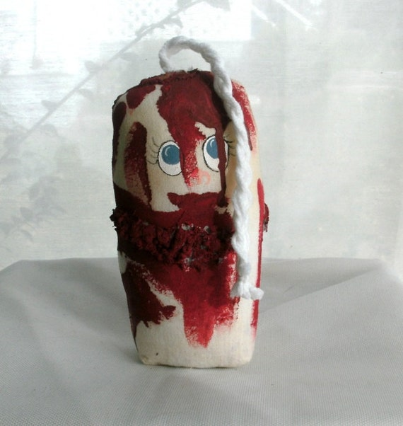 Bloody Mary the tampon doll
