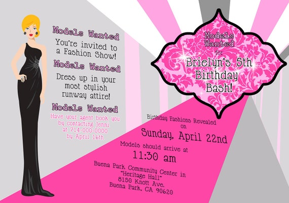 Customized Party Invitations for great invitation ideas
