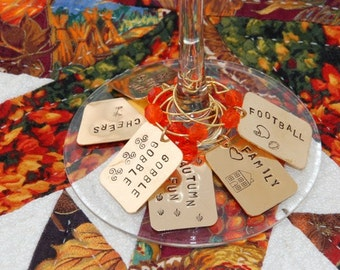 Thanksgiving Drink Charms