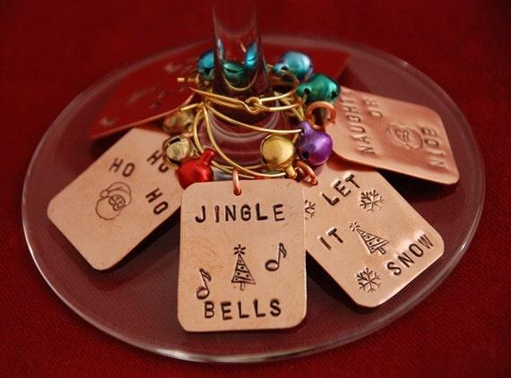 Christmas Drink Charms