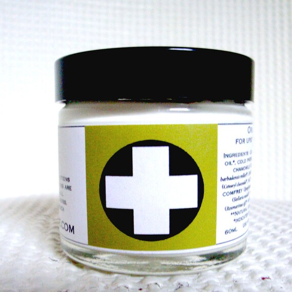 Organic Green Cream    60mL for Upset Patches on Face and Body