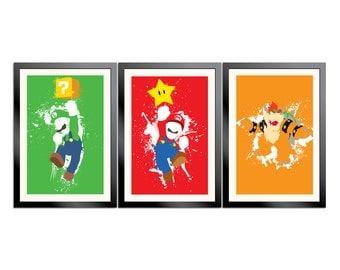 Mario Paint 3-Poster Set
