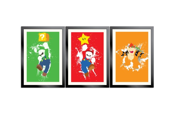 Mario Paint 3-Poster Set