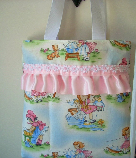 Small Tote Bag Childs Fabric Tote