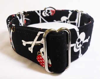 Pirates Greyhound Martingale Collar